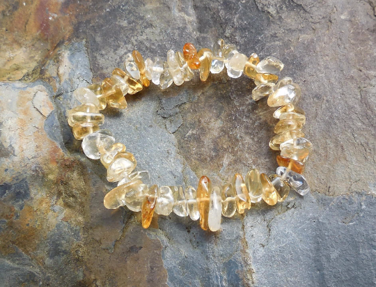 sterling garnets citrine with bracelets and bracelet silver lampwork